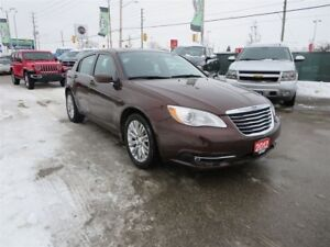 2012 Chrysler 200 Touring - Heated Seats, Bluetooth, Remote Star