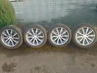 Honda original alloy wheels