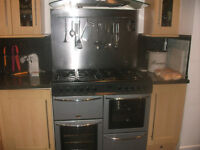 Belling Range Cooker and Hood