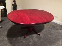 4-6 person dining table