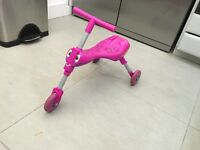 Scuttlebug - Pink trike