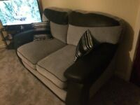 2 two seater sofas paidv £800 only couple months old