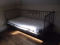 £50 IKEA single bed with John Lewis vi spring mattress in Dalston Hackney Central East London