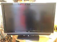 "JVC 37"" Flat Screen TV"