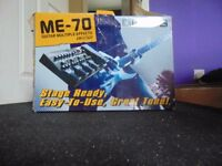 Boss ME-70 pedals multiple effects £120ono