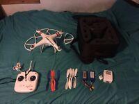 DJI phantom drone/quad-copter and extra's