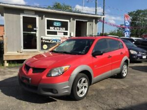 2003 Pontiac Vibe AWD ** CLEAN CARPROOF** CERTIFIED