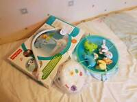 Fisher price projector cot mobile