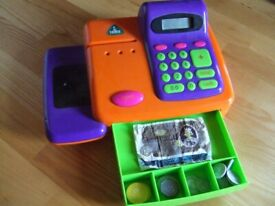 Early Learning Centre till Orange Cash register Play Shop Count learn money