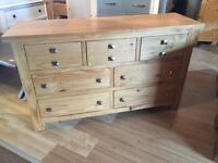Ex-display/seconds**Solid Montana wide chest ONLY £220