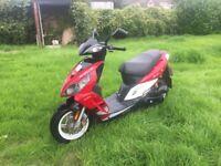 Sym Jet Sports X 50cc Moped Full 7 MTH's MOT, Serviced, Many New Parts + Serviced, Starts 1st time