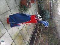 Prosimmon Golf Clubs. Virtually new set of clubs suit lady or young person.