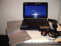 "Acer Aspire 1 ZG5 1.6GHz 1GB RAM Laptop/Notebook with built-in Web Camera, 10.1"" screen,Immaculate"