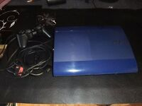 PS3 BLUE CONSOLE 500GB