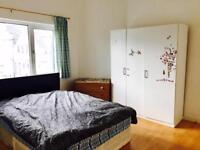 Spacious double room to rent near Stratford
