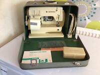 Bernina 700 flatbed and free arm sewing machine