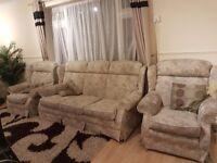 3 seater n 2 single sofa set collection free