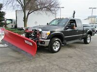 2015 Ford F-250 Ext Cab 4x4 short box 8 ft  plow