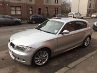 BMW 1 Series 123D M sport 204bhp **very low miles immaculate inside and out