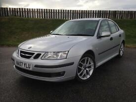 2007 SAAB 9-3 VECTOR SPORT 1.8T 150PS - 73K MILES - EXCELLENT SPEC - GREAT VALUE - 3 MONTHS WARRANTY