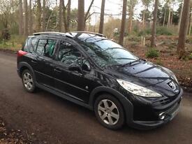 Peugeot 207 Estate New MOT 1.6 HDI