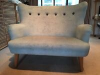 Locally handmade 2-seater sofa in good condition