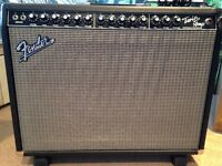 USA-Made Fender Twin Amp - 2x12 100W - with footswitch