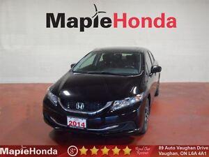 2014 Honda Civic EX|7 Year/160K Warranty| Bluetooth,USB