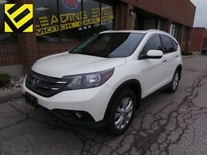 2014 Honda CR-V Touring Touring Leather, Sunroof, Navi, DVD
