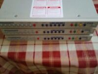 3x 16ch Dedicated Micros digital sprite DVRs