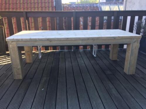≥ tafel steigerhout bouwpakket doe het zelf op voorraad tafels