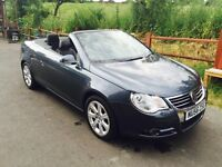 Vw EOS sport 2.0 diesel Convertible with rigid glass roof Px welcomed