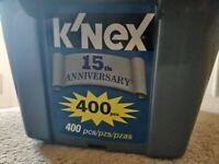 K'Nex Knex 15th Anniversary Set Complete with 400 Pieces