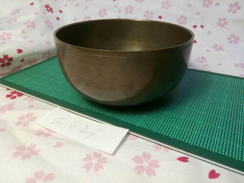 """3.406"""" Japanese Vintage Buddhist Bell Gong Rin G627 Poor Tone"""