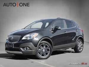 2016 Buick Encore LEATHER   AWD   CAMERA   NAVI   ROOF
