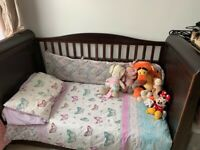 Cot bed and dresser