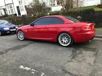 BMW 330d Msport. E93 / Red / manual / 300bhp+