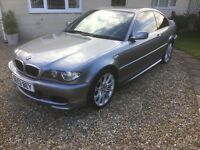 BMW 318Ci Sport Coupe , grey metallic paint superb drive 3 owners rom new