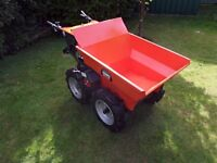 """belle bmd300 honda Power 4x4 wheelbarrow """"only used once""""stored inside"""
