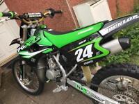 Kawasaki kx85 big wheel 2011 not yz cr rm