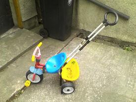 Child Bike with handle