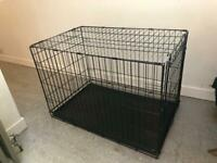 Dog Crate - large / black. Very good condition