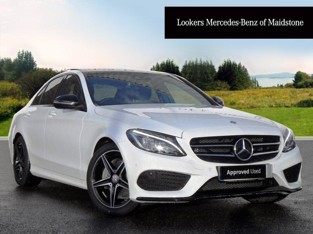 Mercedes Benz C Class C200 Amg Line Premium Plus White