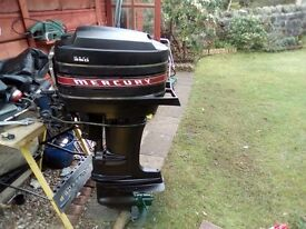 Mercury 350 twin cylinder 2stroke request a carb and pull cord as are stolen off itss