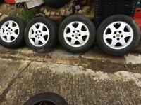VAUXHALL ZAFIRA / VECTRA ALLOYS FOR SALE