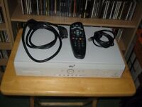 Sky Plus 80GB Recorder Box + Remote + Cables - Perfect Working Order - Bargain £15 For Quick Sale