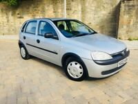 VAUXHALL CORSA 1.2 I GLS 16V 2003 MOT 12 MONTHS IMMACULATE CONDITION