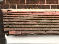"""Original """"Rosemary"""" plain roof tiles - reclaimed"""