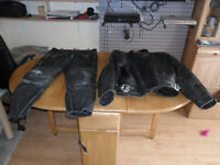 Frank Thomas 2-Piece Motorcycle Leathers
