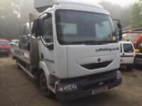 Renault midlum Truck 150 bhp Breaking for parts